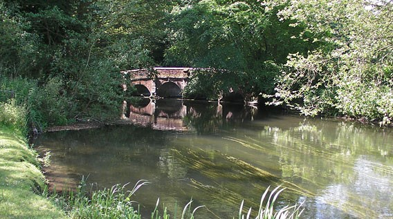 Bowles' Bridge River Avon at Heale