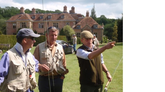 corporate fishing day heale