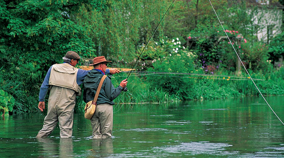 Chalk Stream Fly Fishing Guides and Instructors